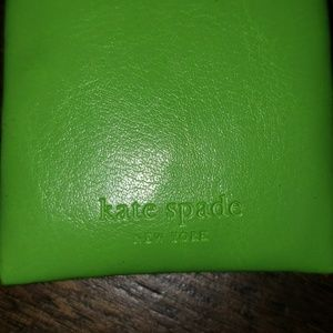 Kate Spade Leather Kisslock Eyeglass Case